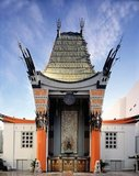 Grauman's Chinese Theatre is a movie theater located at 6925 Hollywood Boulevard in Hollywood. It is located along the historic Hollywood Walk of Fame. The Chinese Theatre was commissioned following the success of the nearby Grauman's Egyptian Theatre which opened in 1922. Built over 18 months, beginning in January 1926 by a partnership headed by Sid Grauman, the theater opened May 18, 1927.
